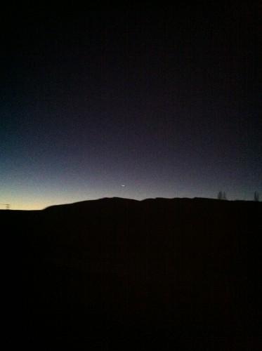 La alborada y Venus el lucero miguero, el lucero del alba